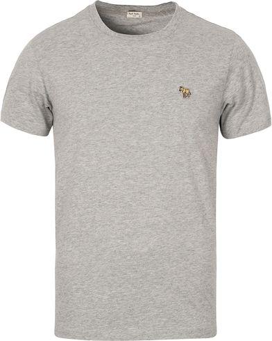 PS by Paul Smith Regular Fit Logo Tee Melange i gruppen Kläder / T-Shirts / Kortärmade t-shirts hos Care of Carl (12440211r)