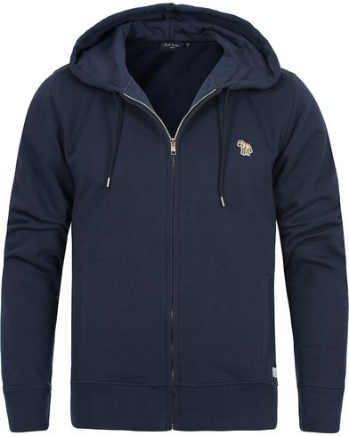 PS by Paul Smith Zip Sweater Zebra Navy i gruppen Gensere / Hettegensere hos Care of Carl (12440511r)