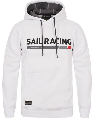 Sail Racing SR Hood White i gruppen Tröjor / Huvtröjor hos Care of Carl (12447411r)