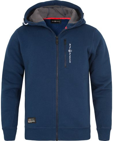 Sail Racing SR Zip Hood Dark Blue i gruppen Klær / Gensere / Hettegensere hos Care of Carl (12447911r)