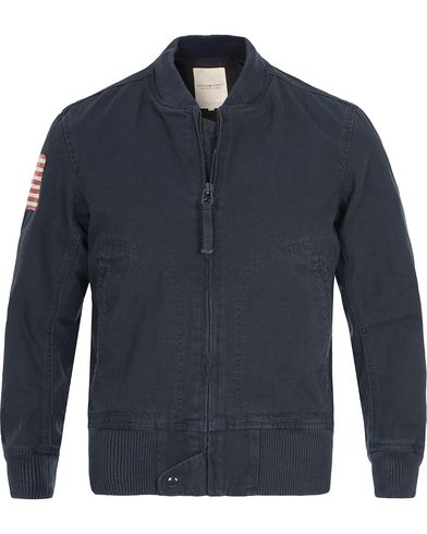 Denim & Supply Ralph Lauren Bomber Jacket Carbon Blue i gruppen Klær / Jakker / Bomberjakker hos Care of Carl (12449711r)