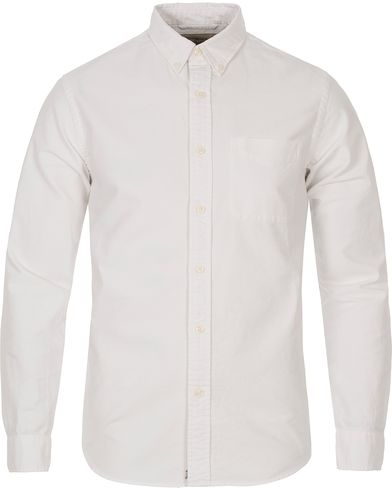 Denim & Supply Ralph Lauren Solid Oxford Pocket Shirt White i gruppen Kläder / Skjortor / Oxfordskjortor hos Care of Carl (12449911r)