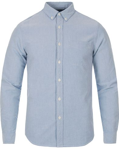 Denim & Supply Ralph Lauren Solid Oxford Pocket Shirt Light Blue i gruppen Klær / Skjorter / Oxfordskjorter hos Care of Carl (12450011r)