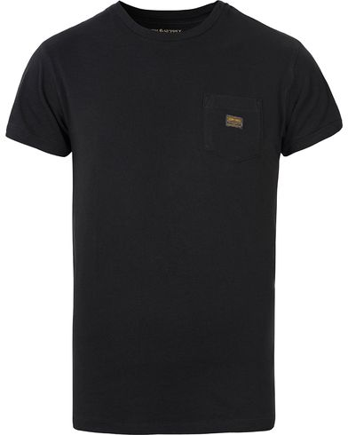 Denim & Supply Ralph Lauren Plain Pocket Tee Polo Black i gruppen Klær / T-Shirts / Kortermede t-shirts hos Care of Carl (12451911r)