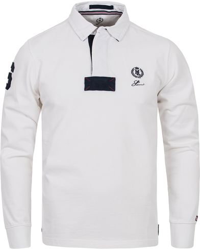 Henri Lloyd The Henri Regular Rugby Bright White i gruppen Gensere / Rugbygensere hos Care of Carl (12458811r)