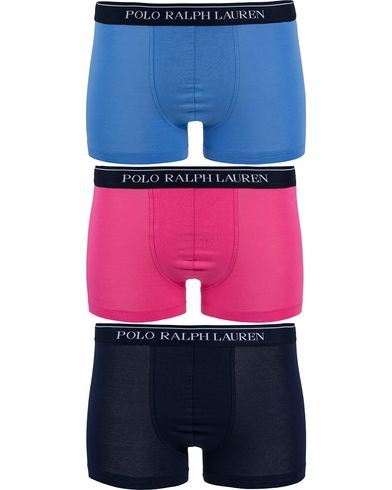 Polo Ralph Lauren 3-Pack Pouch Trunk Blue/Pink/Navy i gruppen Underkläder / Kalsonger hos Care of Carl (12518511r)