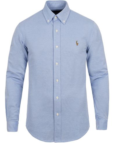 Polo Ralph Lauren Slim Fit Knit Oxford Shirt Harbour Island i gruppen Skjorter / Pikéskjorter hos Care of Carl (12526511r)