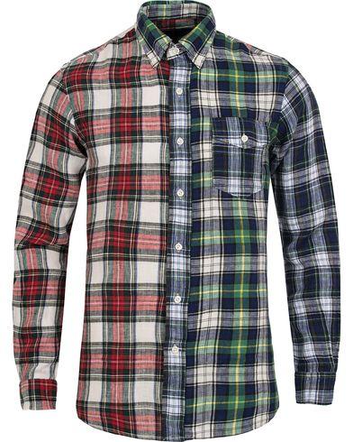 Polo Ralph Lauren Core Fit Linen Check  Fun Shirt i gruppen Design A / Skjortor / Casual skjortor hos Care of Carl (12528111r)