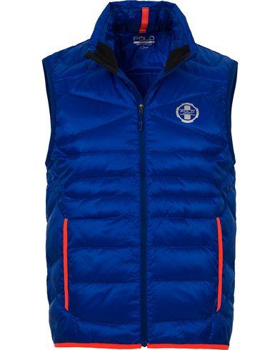 Polo Sport Ralph Lauren Zephyr Down Vest Sapphire Star i gruppen Jakker / Yttervester hos Care of Carl (12548711r)