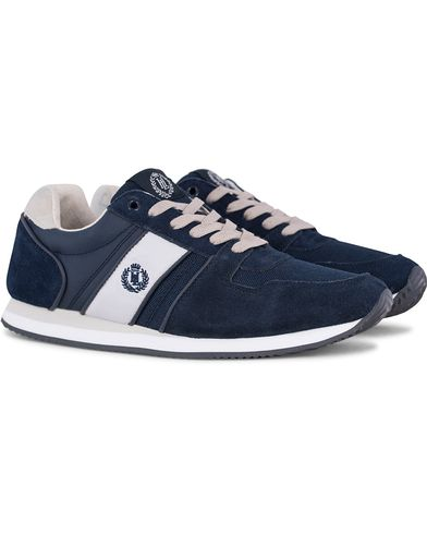 Henri Lloyd Union Runner Sneaker Navy/Grey i gruppen Design A / Sko / Sneakers / Running sneakers hos Care of Carl (12553111r)