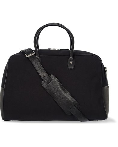 Baron Travel Bag Black Canvas  i gruppen V�skor / Weekendbags hos Care of Carl (12574610)