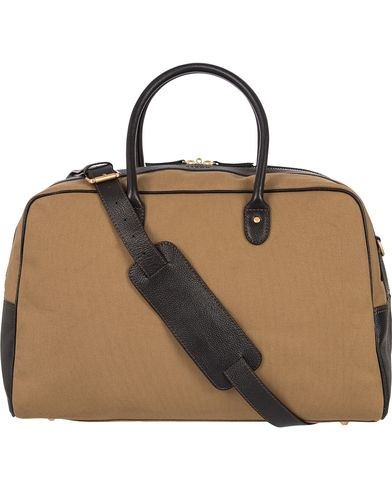 Baron Travel Bag Khaki Canvas  i gruppen Assesoarer / Vesker / Weekendbager hos Care of Carl (12574710)