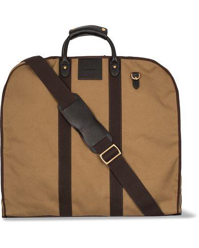 Baron Garment Bag Khaki Canvas  i gruppen Väskor / Kostymfodral hos Care of Carl (12575010)