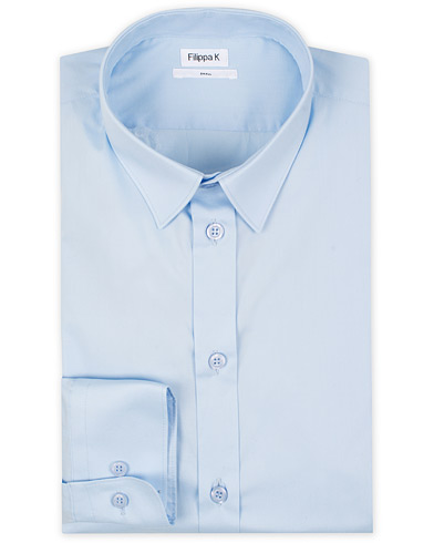 Filippa K Paul Stretch Organic Cotton Shirt Light Blue i gruppen Klær / Skjorter / Formelle skjorter hos Care of Carl (12576111r)