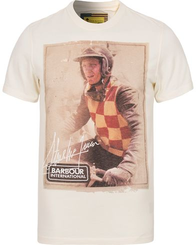 Barbour International Steve McQueen Everett Tee Neutral i gruppen Kläder / T-Shirts / Kortärmade t-shirts hos Care of Carl (12590011r)