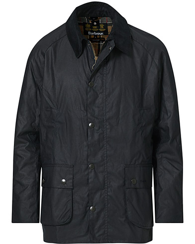 Barbour Lifestyle Ashby Wax Jacket Navy i gruppen Klær / Jakker / Voksede jakker hos Care of Carl (12591511r)