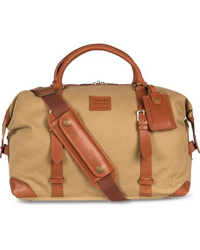 Barbour for Land Rover Holdall Weekendbag Sand  i gruppen Assesoarer / Vesker / Weekendbager hos Care of Carl (12592910)