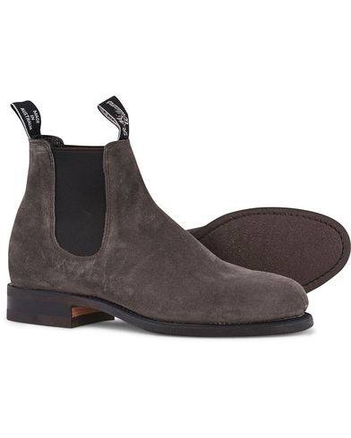 R.M.Williams Wentworth G Boot Suede Whisper Grey i gruppen Sko / Støvler / Chelsea boots hos Care of Carl (12594811r)