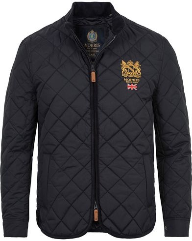 Morris Carl Quilted Jacket Dark Navy i gruppen Jackor / Quiltade jackor hos Care of Carl (12640111r)