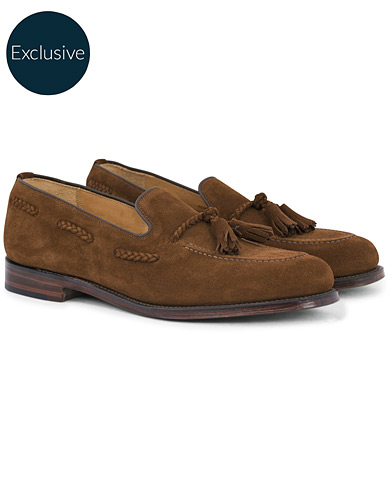 Loake 1880 MTO Temple Loafer Polo Suede i gruppen Sko / Loafers hos Care of Carl (12653711r)