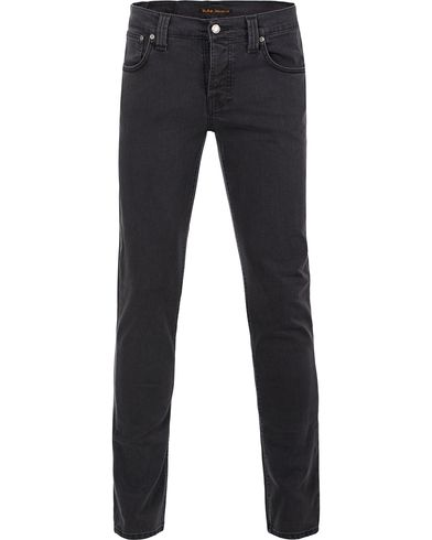 Nudie Jeans Grim Tim Organic Slim Fit Stretch Jeans Misty Ridge i gruppen Jeans / Smale jeans hos Care of Carl (12657111r)