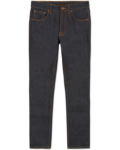 Nudie Jeans Lean Dean Organic Slim Fit Stretch Jeans Dry 16 Dips i gruppen Jeans / Avsmalnende jeans hos Care of Carl (12657511r)