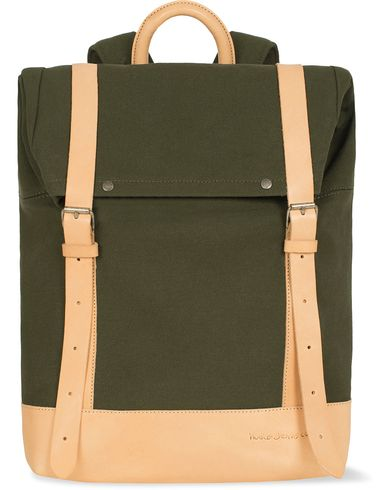 Nudie Jeans Petersson Rucksack  Green  i gruppen Vesker / Ryggsekker hos Care of Carl (12660110)