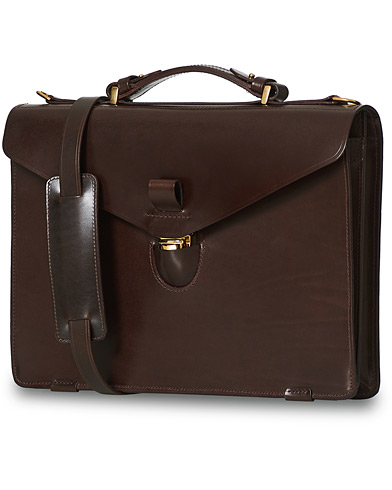T�rnsj� Garveri Icon Briefcase Dark Brown  i gruppen V�skor / Portf�ljer hos Care of Carl (12665710)