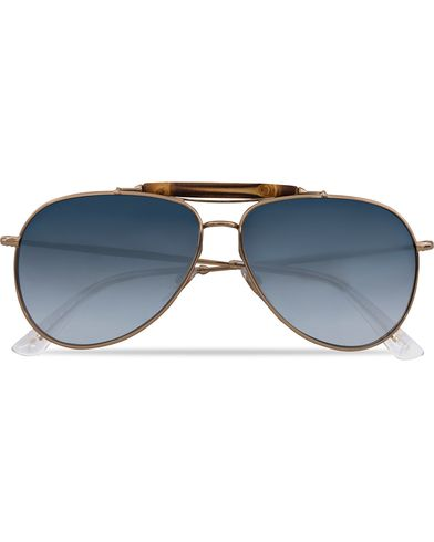 Gucci GG 2235/S Sunglasses Gold/Blue  i gruppen Solbriller / Pilotsolbriller hos Care of Carl (12667410)
