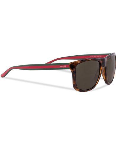 Gucci GG 1118/S Sunglasses Havana  i gruppen Solglasögon / Fyrkantiga solglasögon hos Care of Carl (12668010)