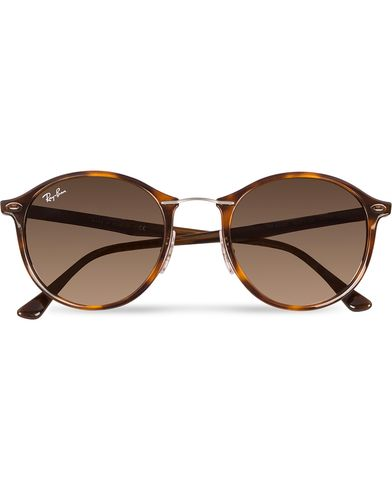 Ray-Ban 0RB4242 Round Sunglasses Light Havana/Brown  i gruppen Assesoarer hos Care of Carl (12668310)