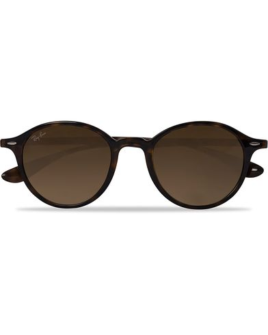 Ray-Ban 0RB4237 Round Sunglasses Havana/Brown  i gruppen Accessoarer / Solglasögon / Runda solglasögon hos Care of Carl (12668510)