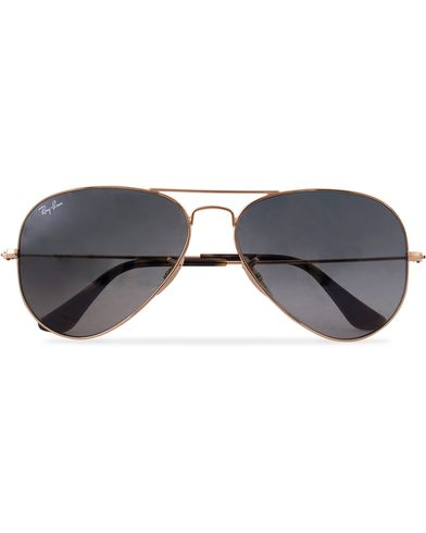 Ray-Ban 0RB3025 Aviator Sunglasses Gold/Grey  i gruppen Solglasögon / Pilotsolglasögon hos Care of Carl (12668810)