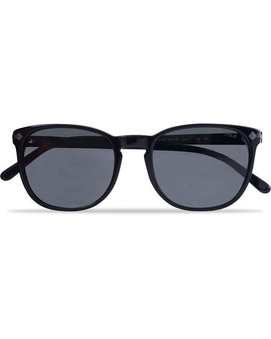Ralph Lauren 0PH4107 Sunglasses Shiny Black/Grey  i gruppen Solbriller hos Care of Carl (12670210)