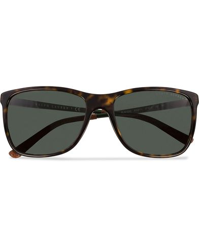 Ralph Lauren 0RL8133Q Sunglasses Dark Havana/Green  i gruppen Solglasögon / Fyrkantiga solglasögon hos Care of Carl (12670610)