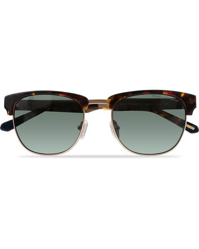Gant GA7047 Polarized Clubmaster Sunglasses Havana/Black  i gruppen Accessoarer / Solglasögon hos Care of Carl (12671610)