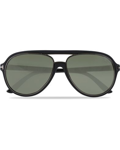 Tom Ford FT0379 Sergio Polarized Sunglasses Black  i gruppen Assesoarer / Solbriller / Pilotsolbriller hos Care of Carl (12671710)