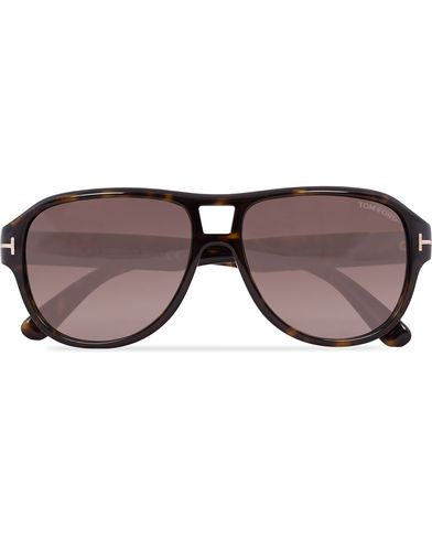 Tom Ford FT0446 Dylan Sunglasses Havana  i gruppen Solbriller / Pilotsolbriller hos Care of Carl (12671910)