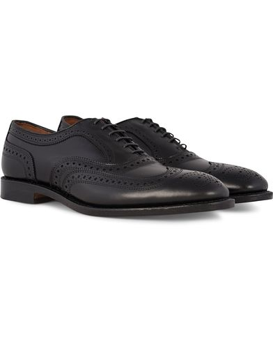 Allen Edmonds McAllister Brogue Black Calf i gruppen Skor hos Care of Carl (12672611r)