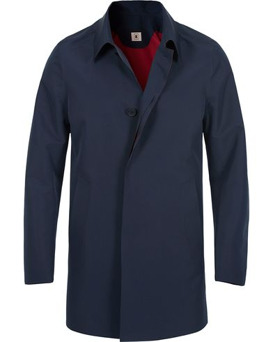 Kired Pablo Laser Cut Trench Navy i gruppen Jackor / Rockar hos Care of Carl (12672711r)
