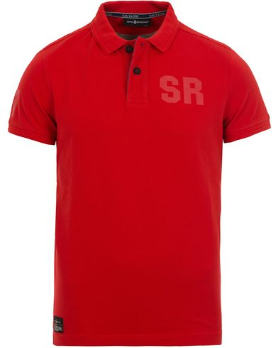 Sail Racing Liquid Polo Storm Red i gruppen Pikéer / Kortärmade pikéer hos Care of Carl (12673711r)