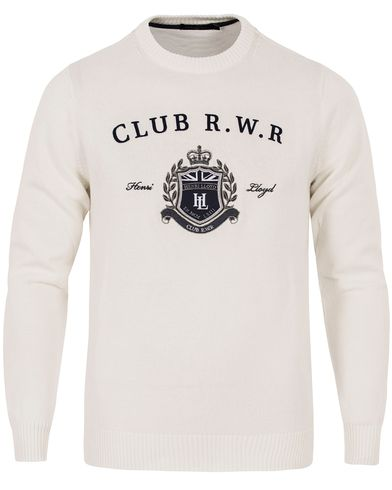 Henri Lloyd Tanworth Regular Crew Knit Surf i gruppen Gensere / Strikkede gensere hos Care of Carl (12676211r)