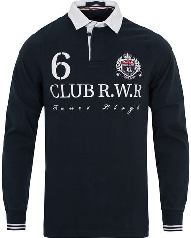 Henri Lloyd Falcon Regular Rugby Navy i gruppen Kläder / Tröjor / Rugbytröjor hos Care of Carl (12677011r)