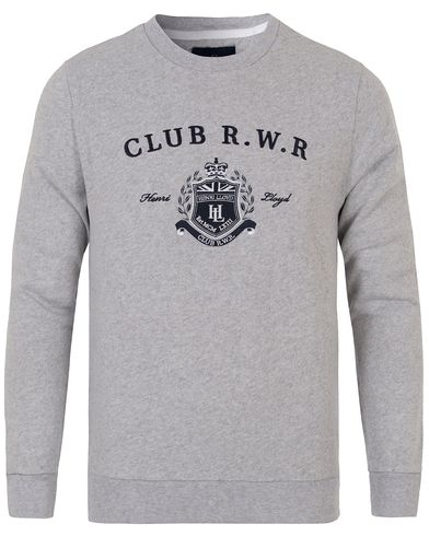 Henri Lloyd Calcott Crew Sweat Grey Marl i gruppen Tr�jor / Sweatshirts hos Care of Carl (12678011r)