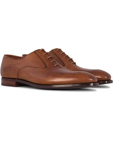 Crockett & Jones Handgrade Rosemoor Oxford Tan Calf i gruppen Skor / Oxfords hos Care of Carl (12680611r)