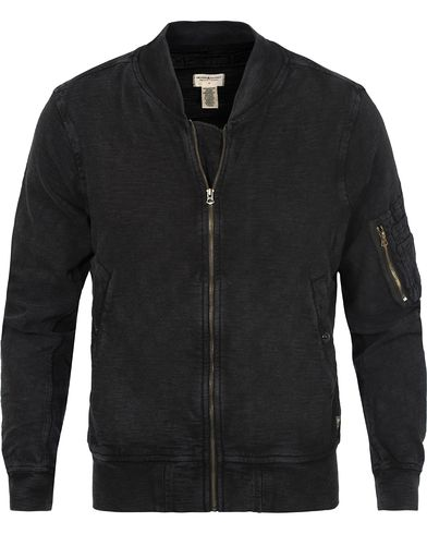 Denim & Supply Ralph Lauren Full Zip Bomber Sweater Polo Black i gruppen Tr�jor / Zip-Tr�jor hos Care of Carl (12683811r)