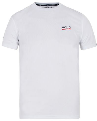 Polo Sport Ralph Lauren Performance Tee Pure White i gruppen Kläder / T-Shirts / Kortärmade t-shirts hos Care of Carl (12684411r)
