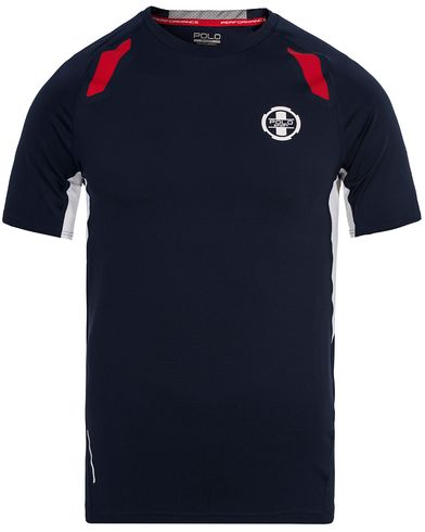 Polo Sport Ralph Lauren Performance Tee French Navy i gruppen T-Shirts / Kortermet T-shirt hos Care of Carl (12684611r)