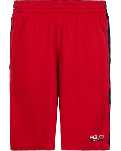 Polo Sport Ralph Lauren Performance Shorts Red i gruppen Kläder / Shorts / Träningsshorts hos Care of Carl (12684911r)