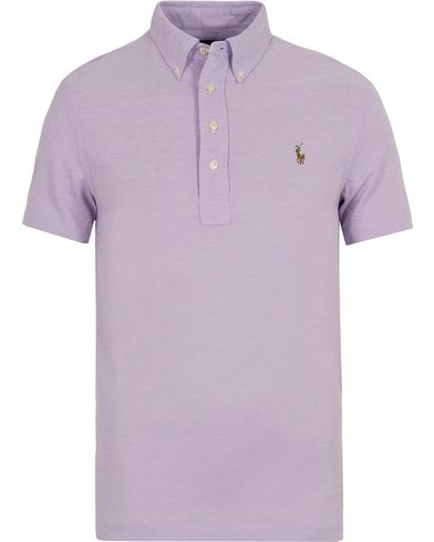 Polo Ralph Lauren Oxford Knit Polo Light Orchid i gruppen Klær / Pikéer / Kortermet piké hos Care of Carl (12688911r)